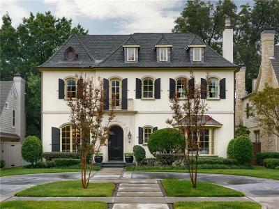 Dallas, Highland Park, University Park Single Family Home For Sale: 3921 Southwestern Boulevard