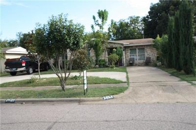 Farmers Branch Single Family Home Active Option Contract: 2616 Wicker Avenue