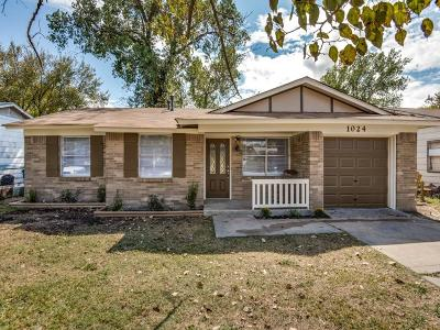 McKinney Single Family Home Active Option Contract: 1024 Kings Row