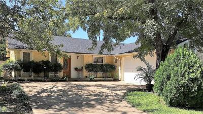 Garland Single Family Home Active Option Contract: 5025 Wildbriar Drive