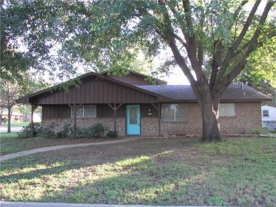 Stephenville TX Single Family Home For Sale: $184,900