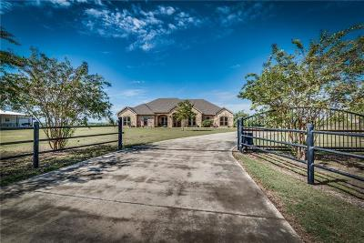 Waxahachie Single Family Home Active Option Contract: 319 Blue Ribbon Road