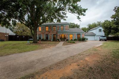 Flower Mound Single Family Home Active Contingent: 1908 Wisteria Court
