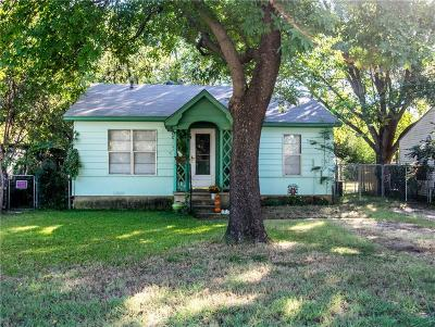 Denton Single Family Home For Sale: 2514 N Elm Street