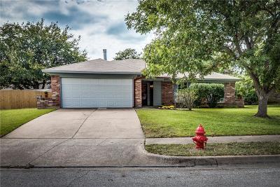 Saginaw Single Family Home Active Option Contract: 1313 N Creek Drive