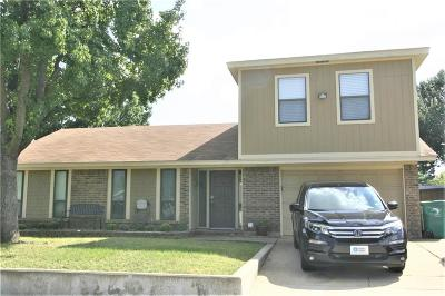 Lewisville Single Family Home Active Option Contract: 514 Price Drive