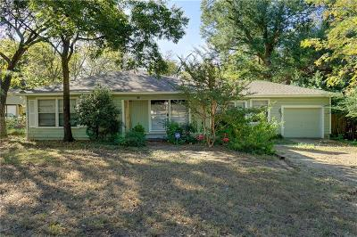 Denton Single Family Home For Sale: 2100 Preston Place