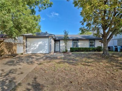 Allen Single Family Home Active Option Contract: 525 Cumberland Drive