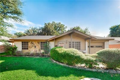 Garland Single Family Home Active Option Contract: 510 Twilight Drive