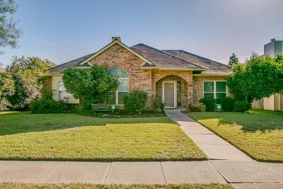 Carrollton Single Family Home Active Contingent: 4104 Juniper Lane