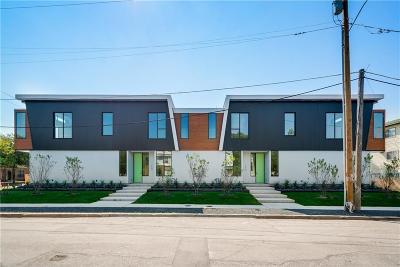 Dallas Half Duplex For Sale: 4450 Lafayette