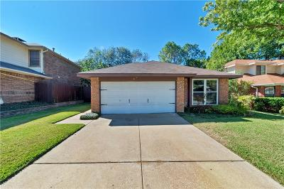 Grapevine Single Family Home Active Option Contract: 1453 Hampton Road