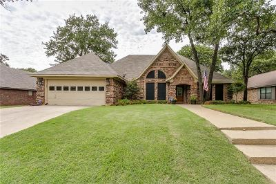 North Richland Hills Single Family Home Active Option Contract: 7709 Aubrey Lane