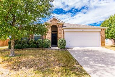 Denton Single Family Home For Sale: 4708 Provence Drive
