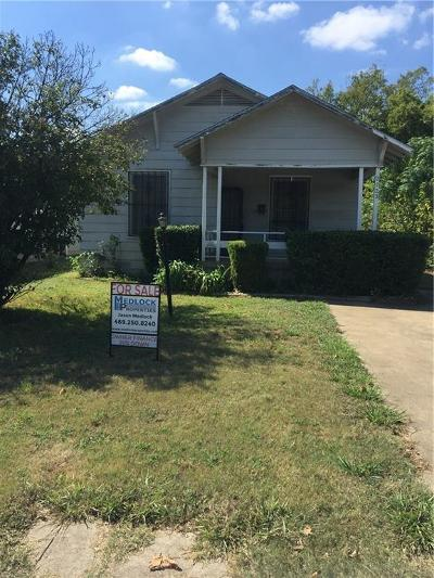 Dallas Single Family Home For Sale: 2723 Alabama Avenue