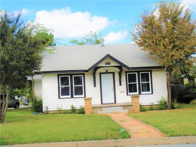 North Fort Worth Single Family Home For Sale: 1404 NW 19th Street