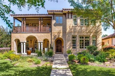 Dallas Single Family Home For Sale: 3608 Vintage Place