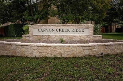 Richardson Condo For Sale: 2628 Custer Parkway #D