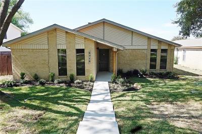 Carrollton Single Family Home Active Option Contract: 3713 Fairfield Drive