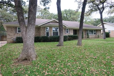 Bedford Single Family Home Active Option Contract: 2113 Stratford Drive