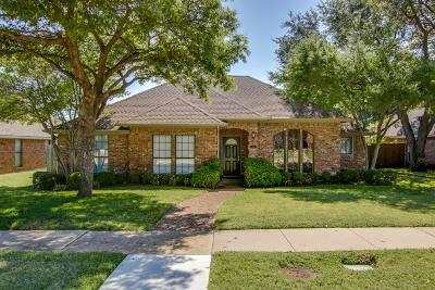 Carrollton Single Family Home Active Option Contract: 1105 Shawnee Trail
