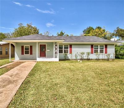 Dallas Single Family Home Active Option Contract: 2831 Modree Avenue