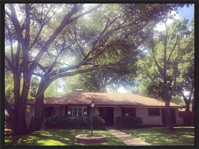 Farmers Branch Single Family Home Active Option Contract: 2776 Leta Mae Circle