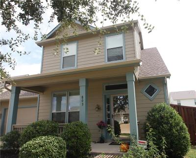 Wylie Townhouse For Sale: 803 Carlton Road