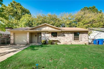 Rowlett Single Family Home Active Option Contract: 3013 Leanne Street