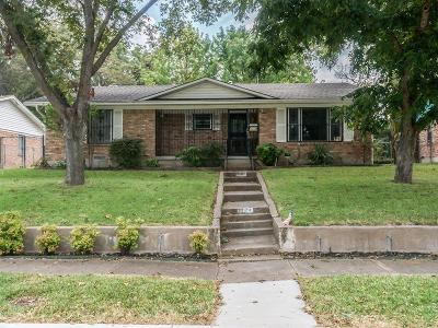 Dallas Single Family Home For Sale: 9008 Fringewood Drive
