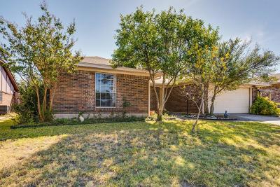 Frisco Single Family Home Active Option Contract: 8771 Camfield Way