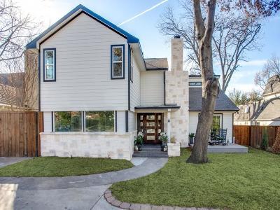 Dallas Single Family Home For Sale: 5338 W Mockingbird Lane