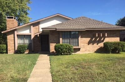 Plano Single Family Home Active Option Contract: 3701 Glover Drive