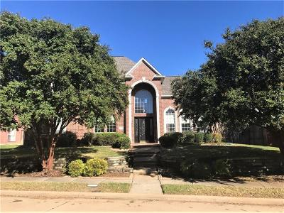 Plano Single Family Home Active Option Contract: 7608 Brodick Way