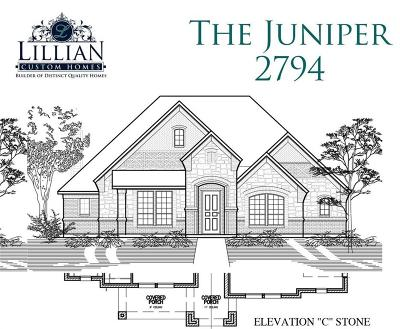 Waxahachie Single Family Home For Sale: 450 Wintergreen Drive