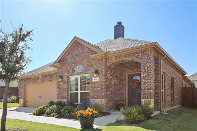 Mckinney Single Family Home Active Contingent: 312 Rugby Lane