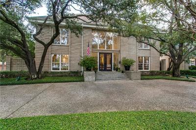 University Park Single Family Home For Sale: 4301 University Boulevard
