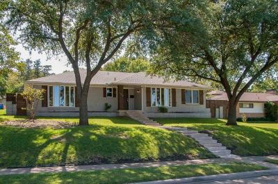 Single Family Home For Sale: 9830 Broken Bow Road