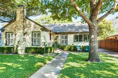 Single Family Home Active Option Contract: 6035 Monticello Avenue