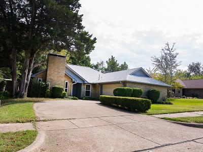 Rowlett Single Family Home Active Option Contract: 4318 Simmons Drive