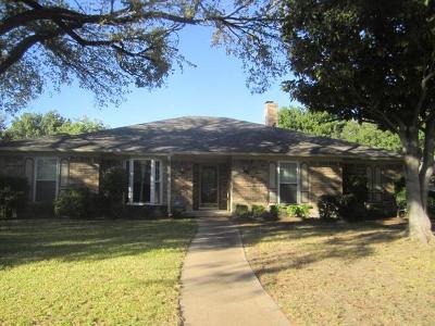 Dallas Single Family Home For Sale: 10003 Glen Canyon Drive