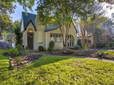 Dallas Single Family Home For Sale: 618 Clermont Street