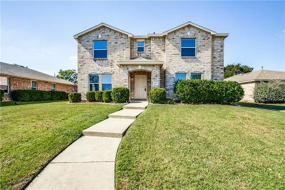 Mesquite Single Family Home Active Option Contract: 2169 Lone Pecan Drive
