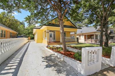 Dallas Single Family Home For Sale: 909 Elsbeth Street