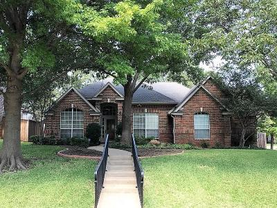 Grapevine Single Family Home Active Contingent: 1904 Waterford Drive