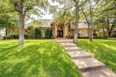 Colleyville Single Family Home Active Option Contract: 3205 Carisbrooke Court