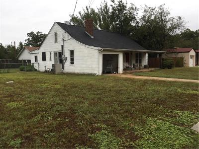 Mineral Wells TX Single Family Home Active Contingent: $72,000