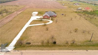 Abilene Single Family Home For Sale: 1149 Hillside Road
