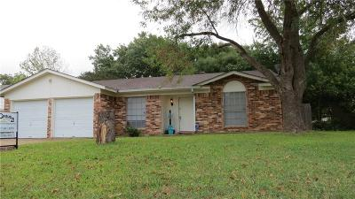 Everman Single Family Home Active Option Contract: 509 Andenwood Court