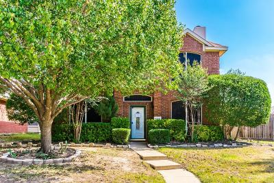 Frisco Single Family Home For Sale: 8100 Stern Street